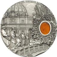 Палау 10 долларов, 2013 год. Базилика Святого Петра