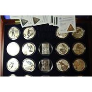 Набор СОЧИ 19 монет в Оригинальной коробке