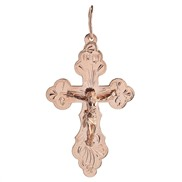 Крест золотой № 130-090-62, золото 585°
