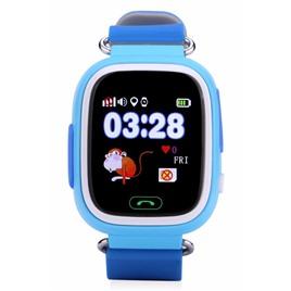 Умные часы и браслеты Wonlex Wonlex GW100 (Q80) сенсорные blue