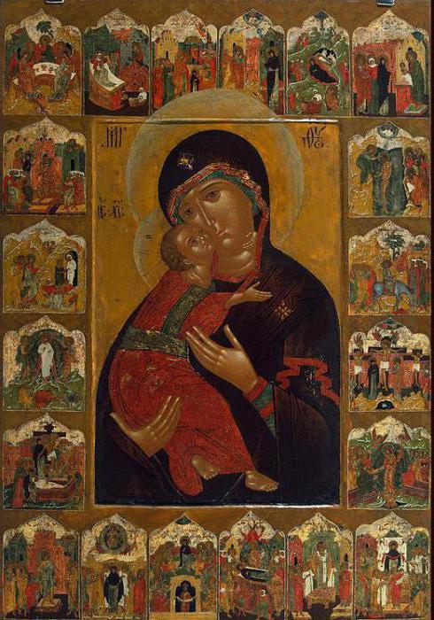Икона Владимирской Богоматери