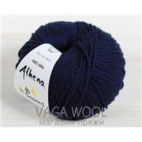 Пряжа Gepardgarn Athena шёлк 760 темно-синий