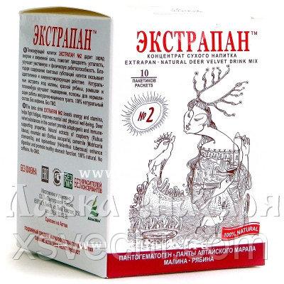 Напиток «Экстрапан» №2 для улучшения работы желудочно-кишечного тракта