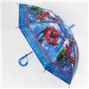 Зонт детский полуавтомат Человек Паук со свистком D-84см. №31