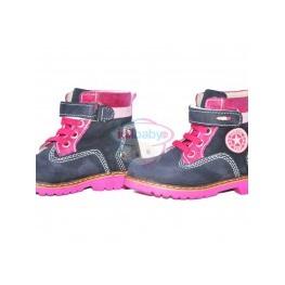 Ботинки Papsin розовые