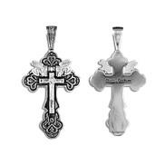 Крест серебряный  № 03306, серебро 925°