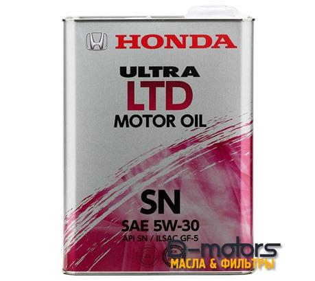 HONDA ULTRA LTD 5W-30 SN/GF-5 (4л.)