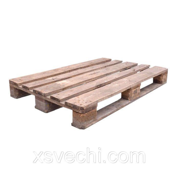 """Деревянный поддон """"Типовой"""", паллет, 800х1200 мм, 2 сорт, до 1.5 тонн, в наборе 5 шт."""