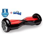Гироскутер Smart Balance 8 дюймов Transformers LED - чёрный+красный