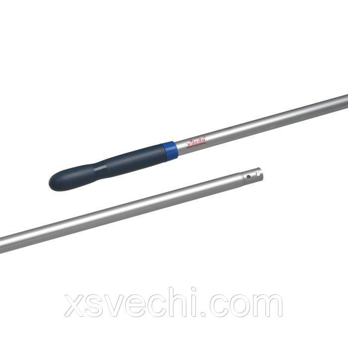 Ручка алюминиевая 150 см, цвет металлик