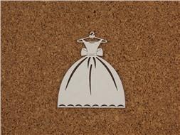 Платье на вешалке