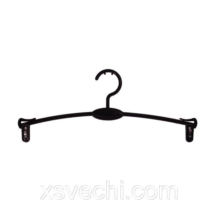 Вешалка для брюк и юбок L=27, цвет чёрный