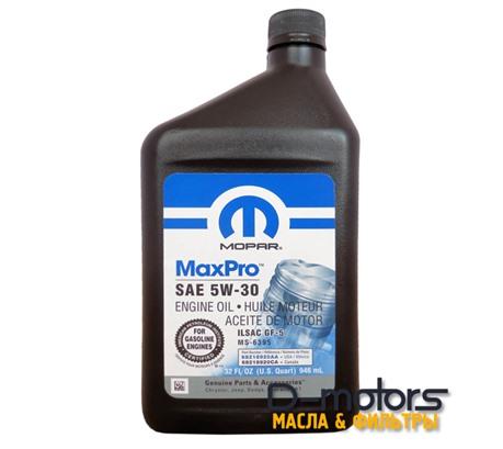 MOPAR MaxPro 5W-30 (0,946л)