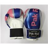 Перчатки боксерские Pak Rus , иск.кожа DX, 10 OZ 12432 (розовый/синий)
