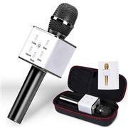 Беспроводной караоке микрофон Micgeek Q7 черный