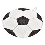 Коврик для бани и сауны Hot Pot Футбольный мяч войлок 45 см 41211