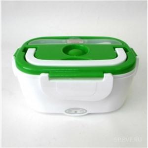Электрический Ланч-Бокс с подогревом, зеленый