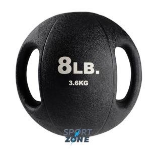 Тренировочный мяч с хватами 3,6 кг (8lb)