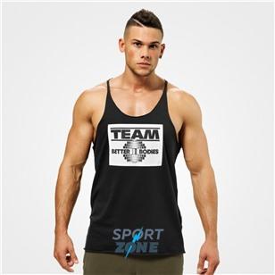 Спортивная майка Team BB Raw Cut Tank, черная
