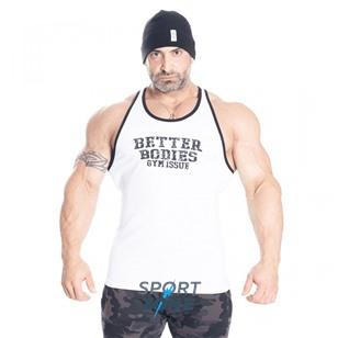 Спортивная майка Better Bodies Jersey Rib T-Back, white