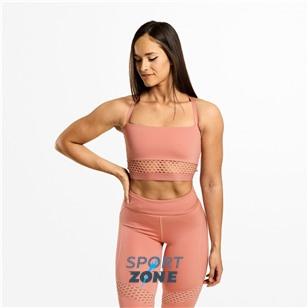 Спортивный топ Better Bodies Waverly Mesh Bra, розовый рассвет
