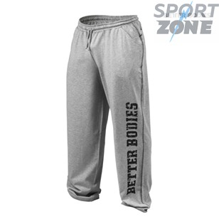 Спортивные брюки Better Bodies Gym Pant, серый меланж