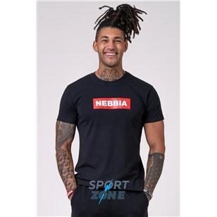 NEBBIA x Mens T-Shirt цв.черный
