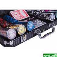 Набор для покера Frost на 300 фишек, интернет-магазин товаров для бильярда Play-billiard.ru. Фото 8