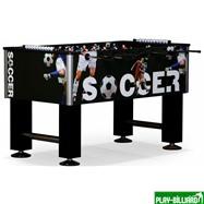 Weekend Настольный футбол (кикер) «Roma IV» (140x76x87 см, черный), интернет-магазин товаров для бильярда Play-billiard.ru. Фото 1