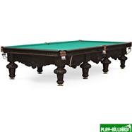 Weekend Бильярдный стол для снукера «Rococo» 12 ф (черный орех), интернет-магазин товаров для бильярда Play-billiard.ru