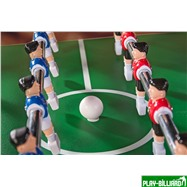 Weekend Настольный футбол (кикер) «Maccabi» (140x75x89, махагон, складной), интернет-магазин товаров для бильярда Play-billiard.ru. Фото 6