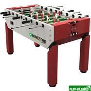 Weekend Игровой стол - футбол «Nine Star Iron Men» (140х77х88, красный), интернет-магазин товаров для бильярда Play-billiard.ru. Фото 1