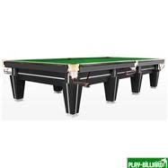 Weekend Бильярдный стол для снукера «Magnum Pro» 12 ф (черный, плита 50 мм в комплекте), интернет-магазин товаров для бильярда Play-billiard.ru. Фото 1