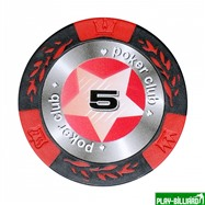 Набор для покера Black Stars на 500 фишек, интернет-магазин товаров для бильярда Play-billiard.ru. Фото 5