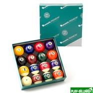 "Aramith Saluc Комплект шаров 57.2 мм ""Aramith Premium"", интернет-магазин товаров для бильярда Play-billiard.ru. Фото 1"