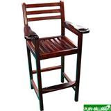 Кресло бильярдное (махагон) 90.004.00.1, интернет-магазин товаров для бильярда Play-billiard.ru