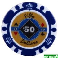 Набор для покера Crown на 500 фишек, интернет-магазин товаров для бильярда Play-billiard.ru. Фото 6