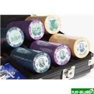 Набор для покера US Dollar на 300 фишек, интернет-магазин товаров для бильярда Play-billiard.ru. Фото 2