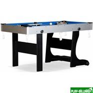 Weekend Складной бильярдный стол для пула «Team I» 5 ф (черный) ЛДСП, интернет-магазин товаров для бильярда Play-billiard.ru. Фото 1