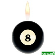 Weekend Зажигалка «Billiard Ball 1-15» (1 шт), интернет-магазин товаров для бильярда Play-billiard.ru. Фото 1