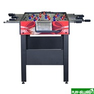 Weekend Настольный футбол (кикер) «Flex» (122x61x78.7 см, красный), интернет-магазин товаров для бильярда Play-billiard.ru. Фото 3