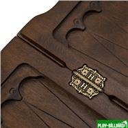"""Нарды резные """"Охота"""", Haleyan, интернет-магазин товаров для бильярда Play-billiard.ru. Фото 8"""