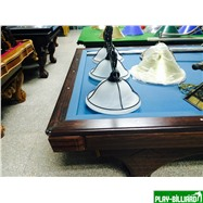 Weekend Стол / карамболь «Hollywood» 9.3 ф (кофе) + плита, интернет-магазин товаров для бильярда Play-billiard.ru. Фото 2