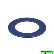 Weekend Кольцо декоративное для шафта упаковка 25 шт. (синее, 0.8мм, н/д 25мм, в/д 16мм), интернет-магазин товаров для бильярда Play-billiard.ru. Фото 2