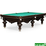 Weekend Бильярдный стол для русского бильярда «Rococo» 10 ф (черный орех), интернет-магазин товаров для бильярда Play-billiard.ru