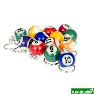 """Комплект брелков """"1-15"""" (упаковка 15 шт), интернет-магазин товаров для бильярда Play-billiard.ru. Фото 3"""