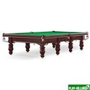 Weekend Бильярдный стол для снукера «Dynamic Prince» 12 ф (махагон), интернет-магазин товаров для бильярда Play-billiard.ru. Фото 1