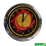 Weekend Часы настенные «NBU-3» (неон) D35см, интернет-магазин товаров для бильярда Play-billiard.ru