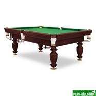 Бильярдный стол для русского бильярда «Нортон» 8 футов (махагон, шары 60.3 мм), интернет-магазин товаров для бильярда Play-billiard.ru