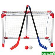 Weekend Комплект для игры в хоккей с мячом, флорбол  «Junior Hockey», интернет-магазин товаров для бильярда Play-billiard.ru. Фото 1